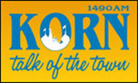 KORN - 1490 AM - Talk of the Town - Mitchell